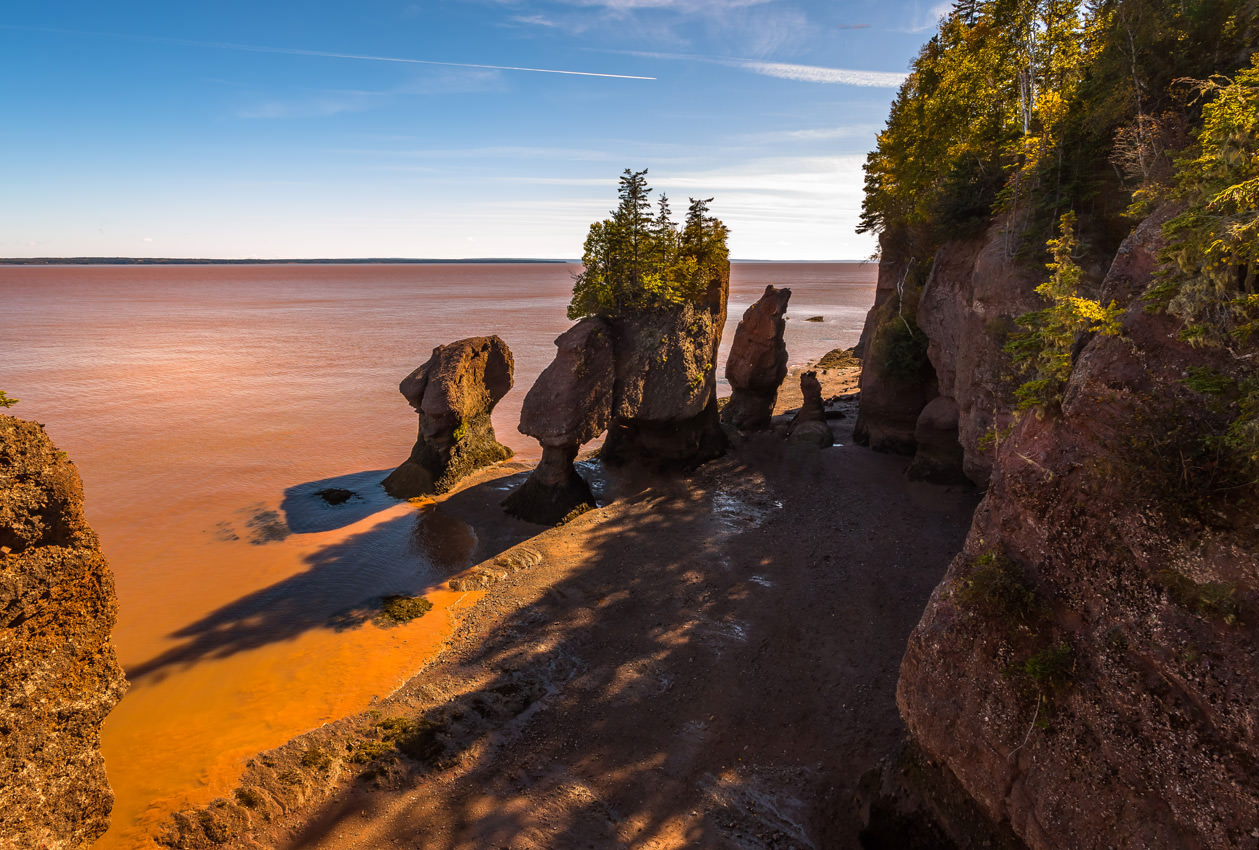 Bay Of Fundy Camping >> Rv Travel Bay Of Fundy Nb Visit Canada Canadream Canadream